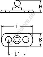 Tenax lower section for screw joint