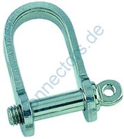 Flat shackle, short type
