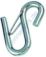 S-hook with gate